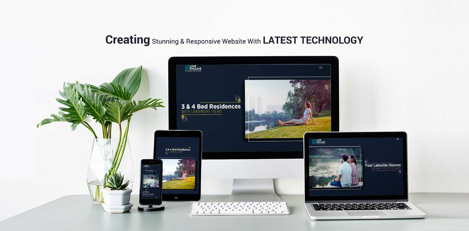 Responsive Websites with Latest Technology